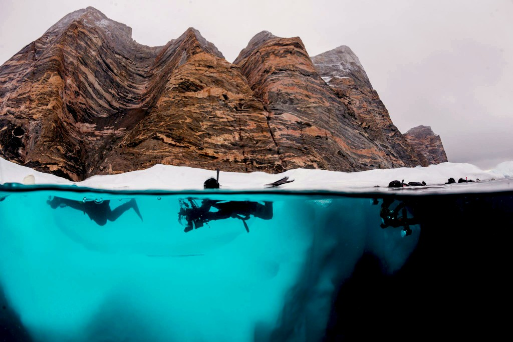 Polar Snorkelling with Aurora expeditions