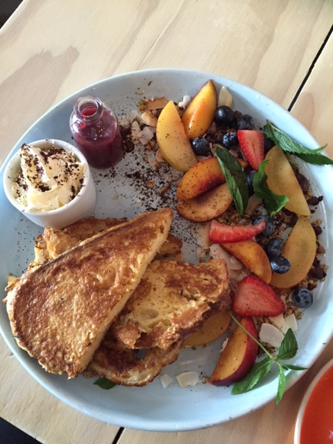French Toast at Local Press Wholefoods