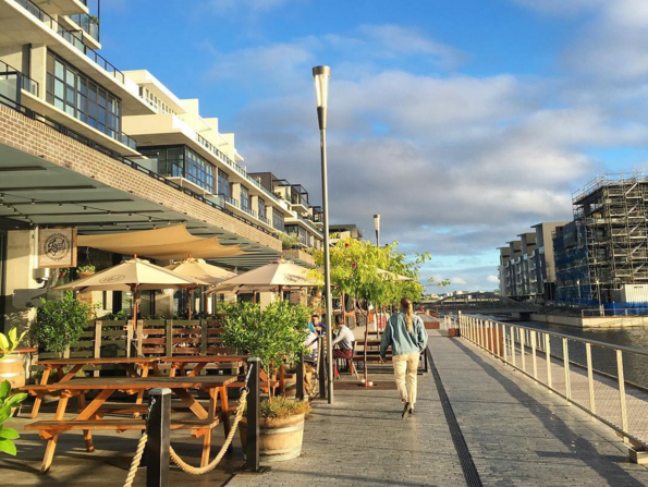 Local Press Cafe on the Kingston Foreshore