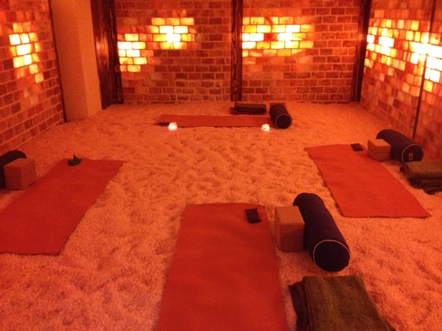 Do Yoga In A Room Filled With Himalayan Salt Yes Please