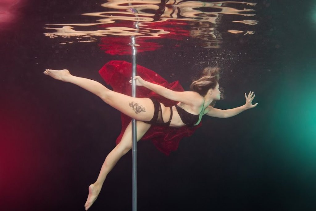 It may be surprising, but pole dance is a great way to get fit and confident - all while looking fabulous.