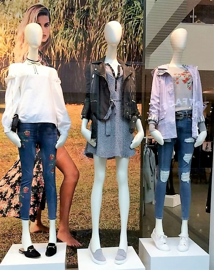 High Street Mannequins are Too Thin Bondi Beauty