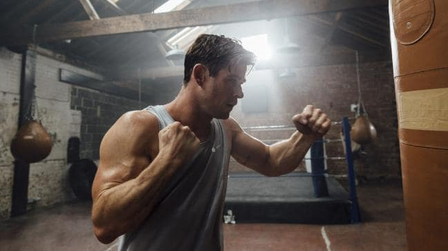 Muay Thai, heavy weights and boxing are some of the workouts Chris Hemsworth uses daily