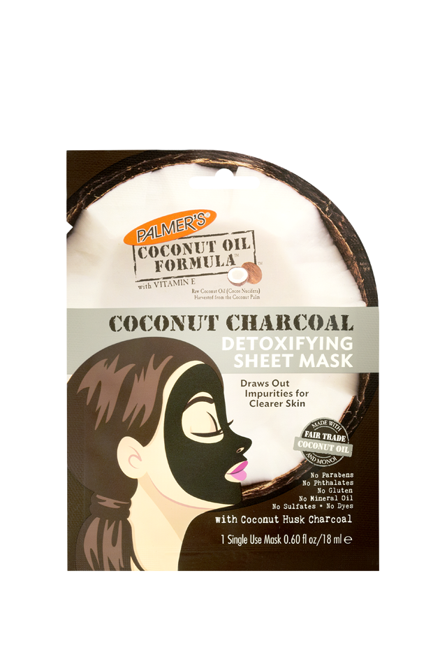 Palmer's Coconut Charcoal Mask