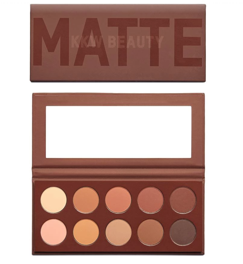 90s Comeback: KKW Beauty Matte Collection