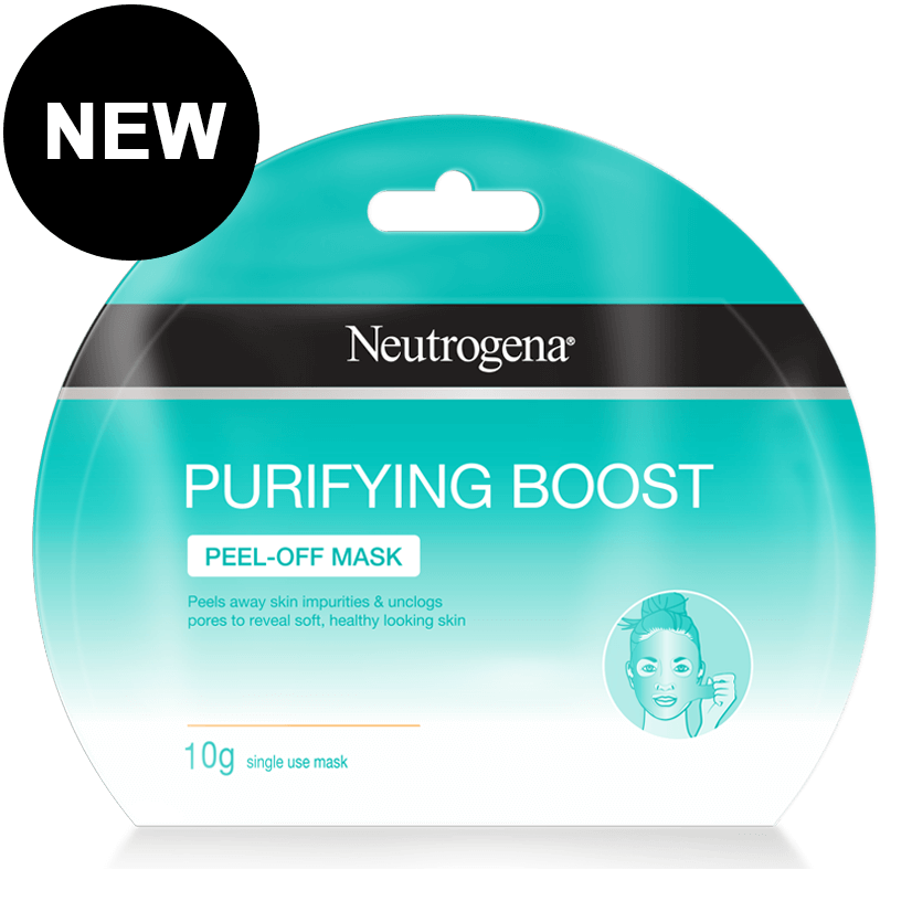 Neutrogena purifying boost peel of mask