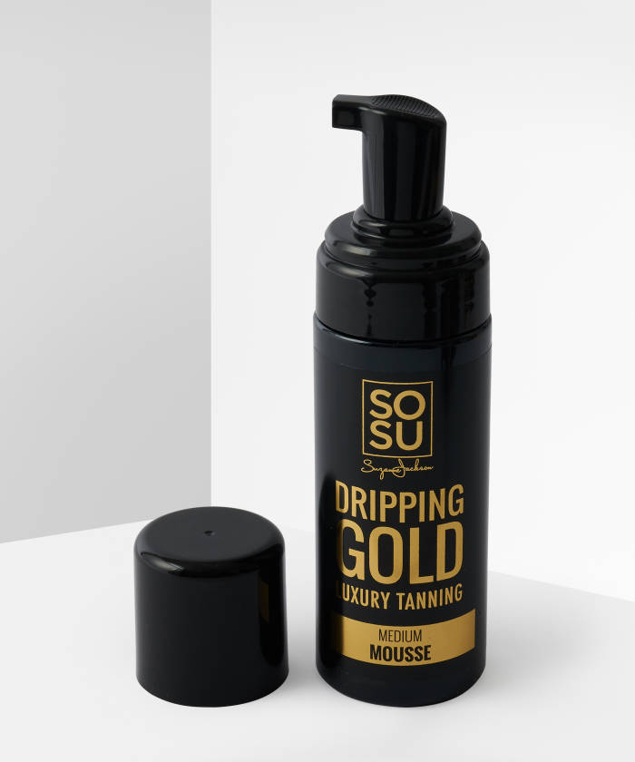 SoSu Dripping Gold Luxury Tanners