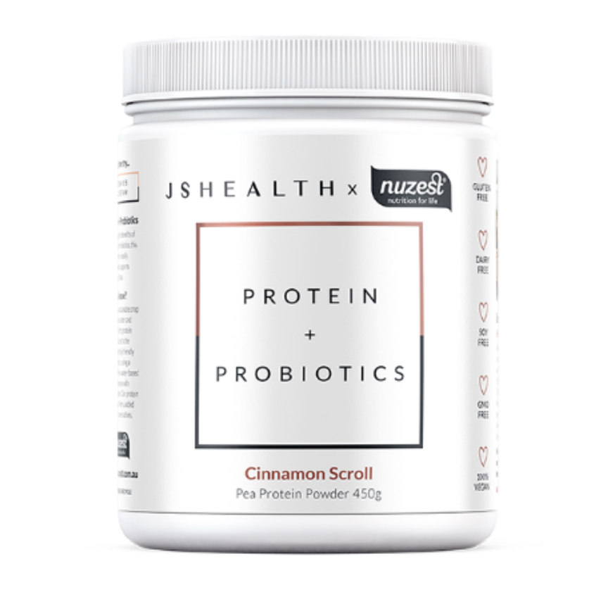 JS HEALTH X NUZEST Cinnamon Scroll Protein