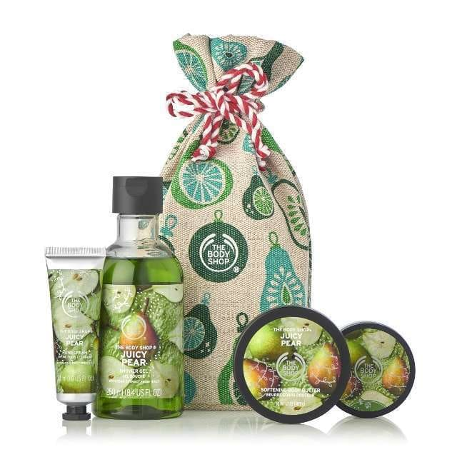 Lush juicy pear gift
