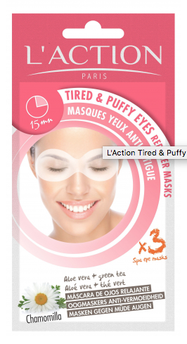 L'Action Paris Tired & Puffy Eyes Reducer Masks