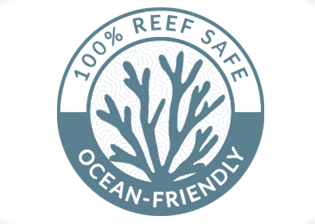 Reef Safe Sunscreen Badge