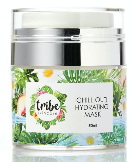 The new Tribe Chill Out Hydrating Mask by Tribe Skincare