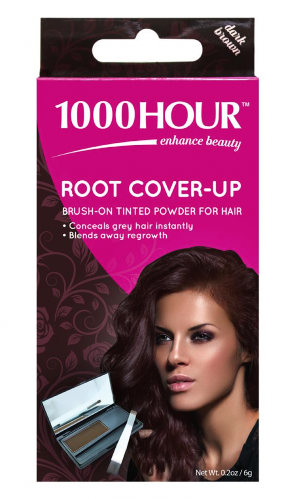 1000 HOUR Hair Colour Root Cover-Up Dark Brown