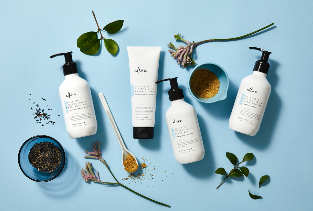 Alkira natural beauty range