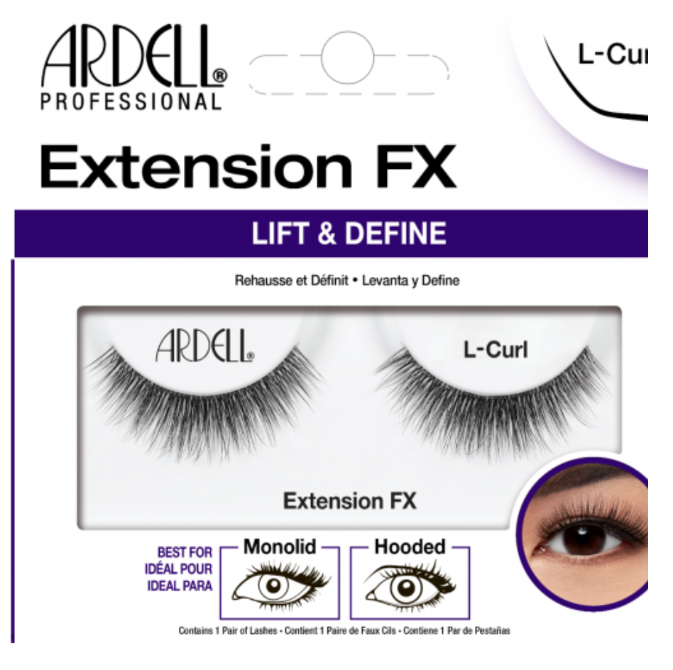 L Curl Ardell Extension FX Lashes