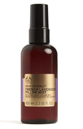 Body Shop pillow spray mothers day gift guide