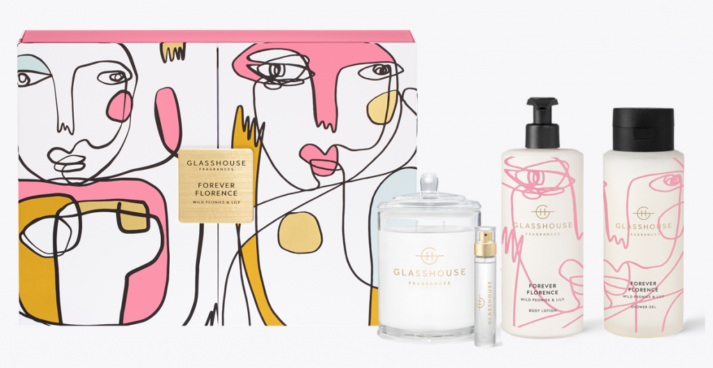 Glasshouse Fragrances Forever Florence Wild Peonies  & Lily RRP $124.95