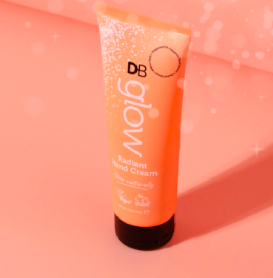 Designer Brands Glow Radiant Hand Cream  - from website