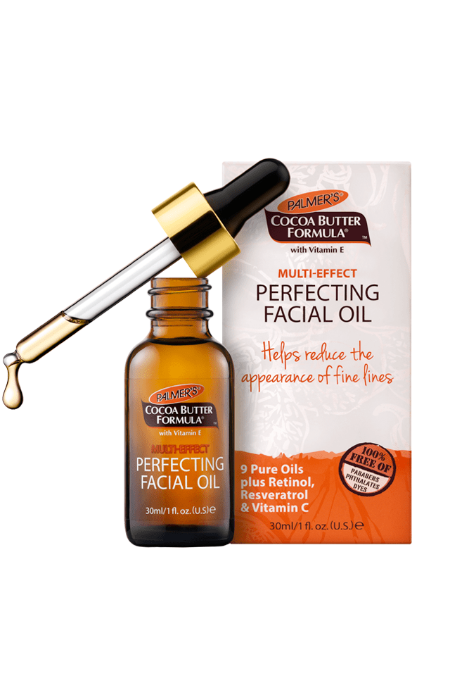 Palmers Facial Oil serums for dry winter skin