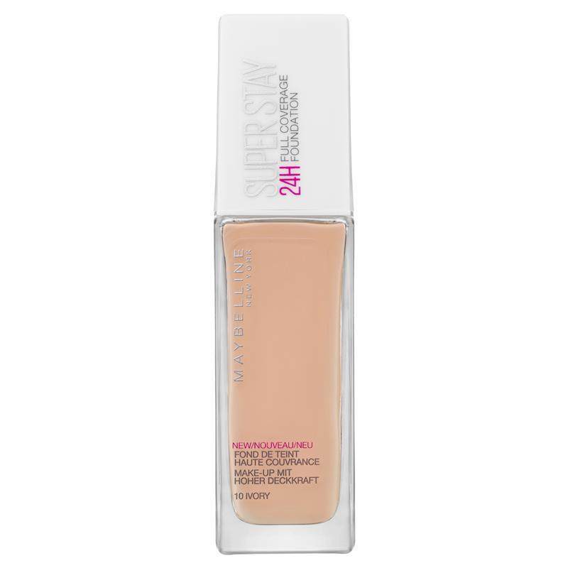 Maybelline Superstay 24 hours full coverage foundation, Luxe to less