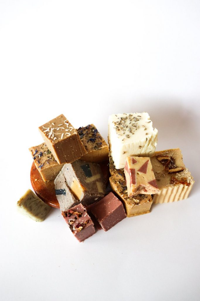 assorted soap collection at Bare Body Beauty
