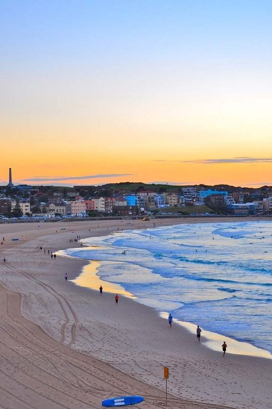 Making Meditation Mainstream at Bondi Beach for Sunrise. Meditate together. Connection.