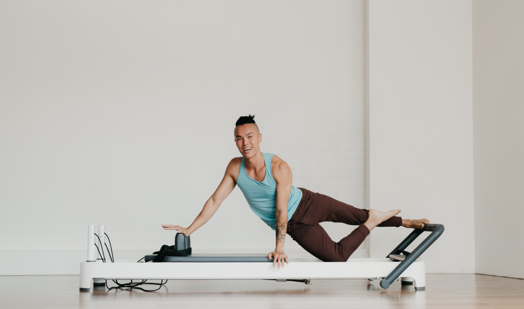 Pilates is a great way to strengthen your back and legs