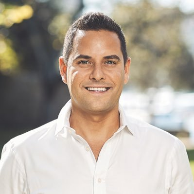 Alex Greenwich, an Independent member of the New South Wales Legislative Assembly, representing the seat of Sydney